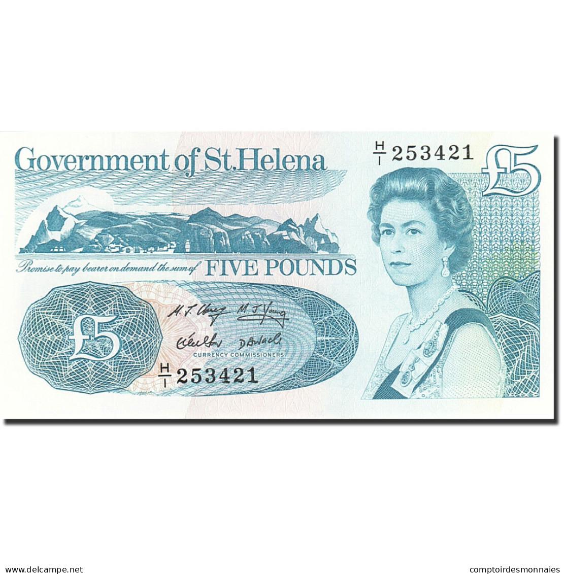 Saint Helena, 5 Pounds, 1998, Undated (1998), KM:11a, NEUF - Isla Santa Helena