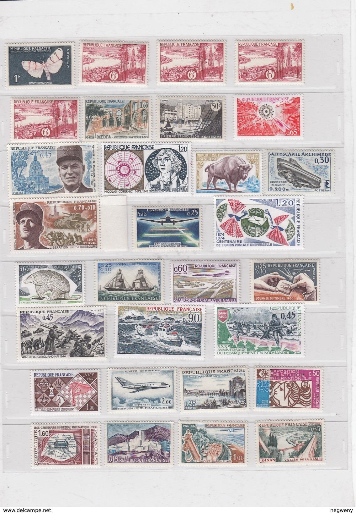 0019 France Selection MNH - France