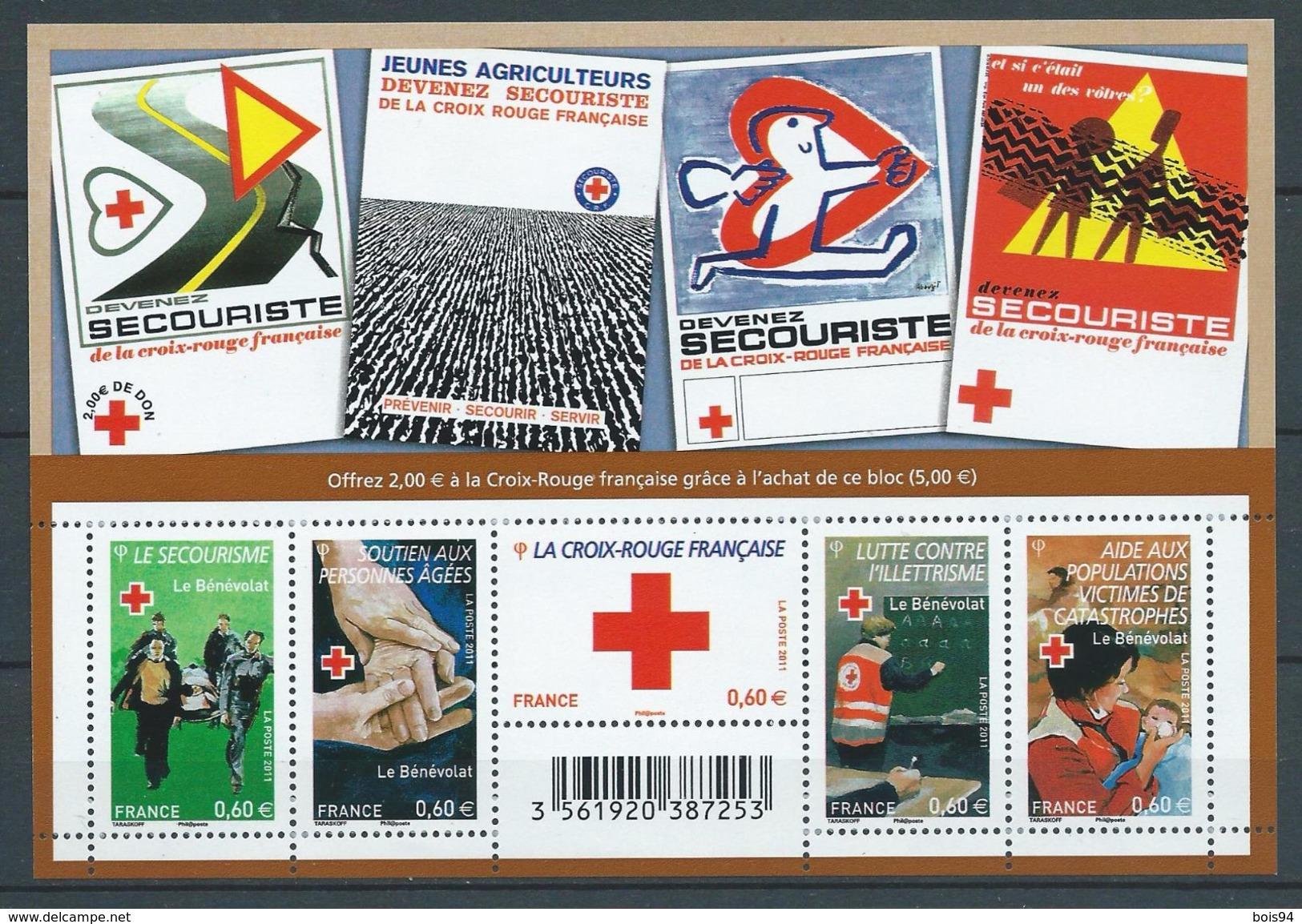 FRANCE 2011 . Feuillet N° F4621 . Neuf **  (MNH) - Blocs & Feuillets