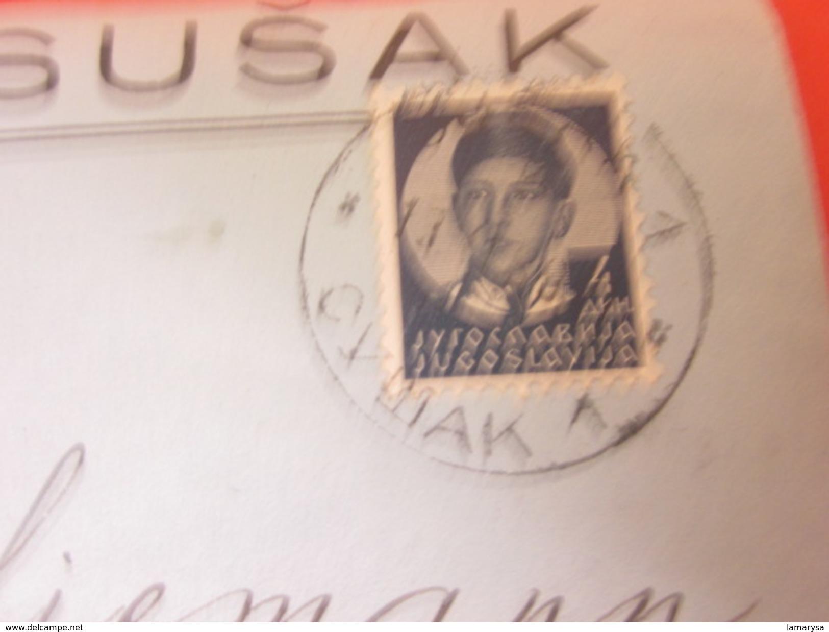 République Fédérative Populaire De Yougoslavie SuJak Jogoslavija  Lettre Document By Air Mail Par Avion,Düsseldorf D- - 1945-1992 Socialist Federal Republic Of Yugoslavia