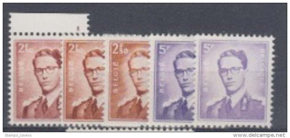 BELGIUM MNH** COB 1028/29 MARCHAND - 1953-1972 Bril