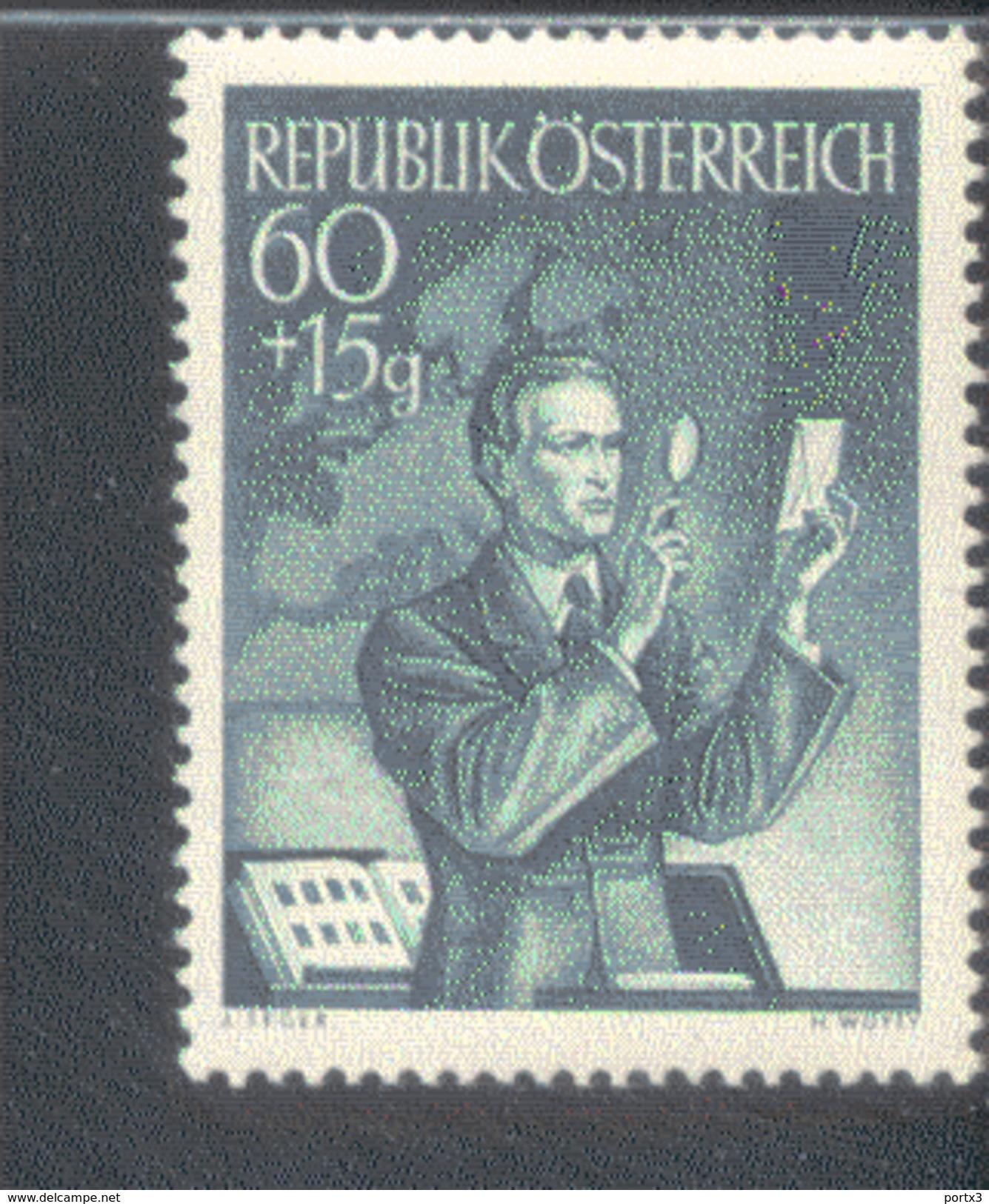 Österreich 957 Tag Der Briefmarke MNH Postfrisch ** - 1945-.... 2. Republik