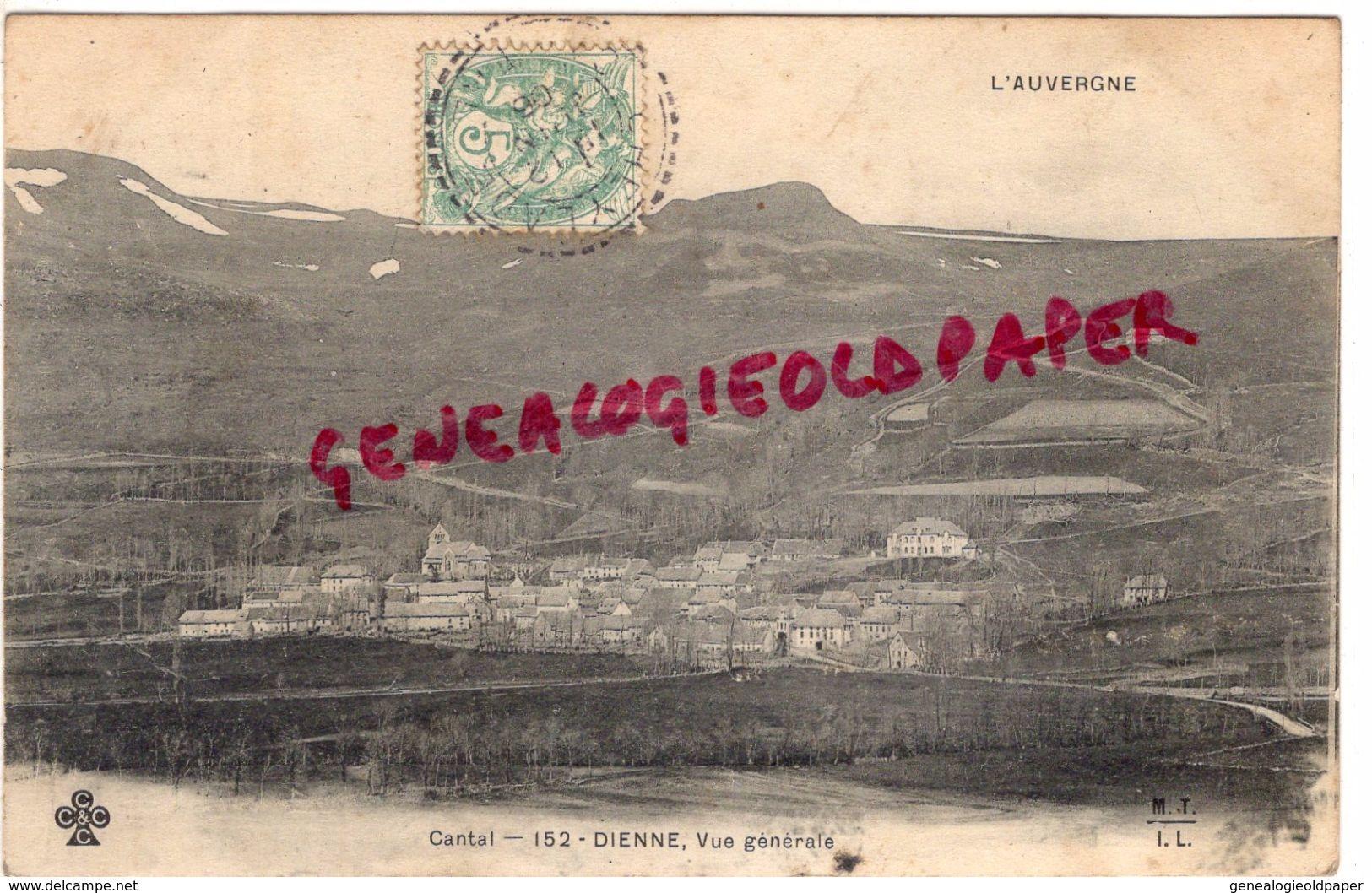 15 - DIENNE - VUE GENERALE - France