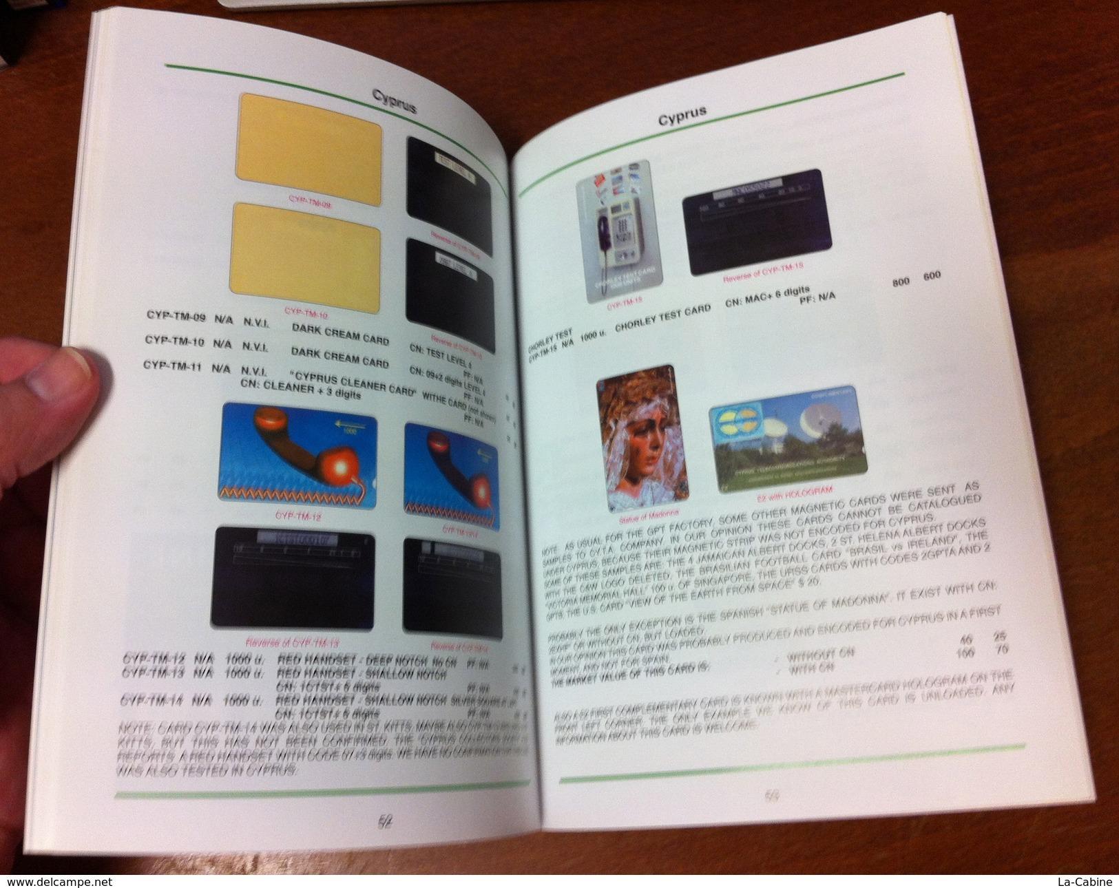 TELECARTE PHONECARD CATALOGUE CHYPRE CYPRUS & NORTH CYPRUS DE 2005 BON ÉTAT 64 PAGES CARD - Télécartes