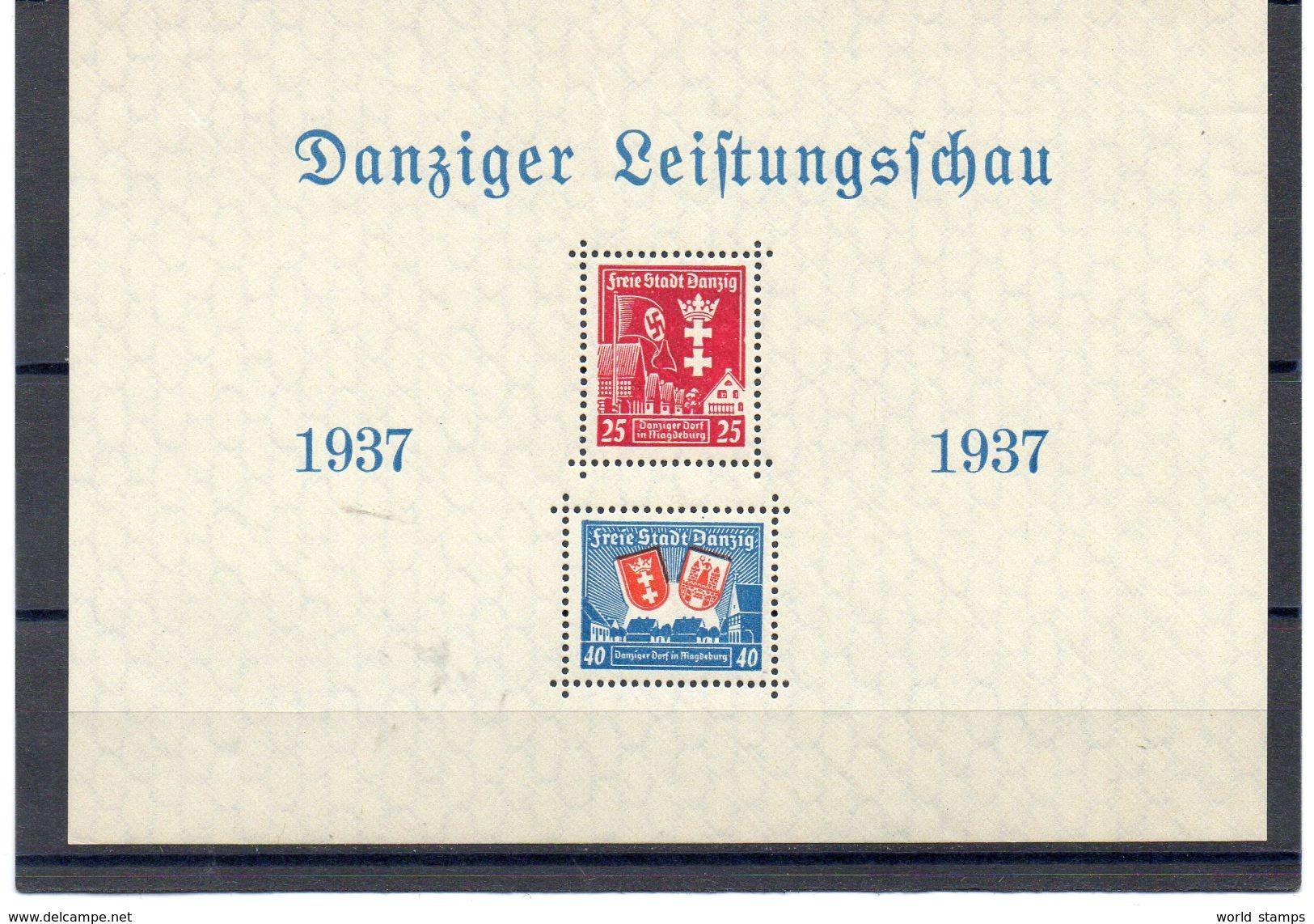 DANTZIG 1937 ** - Danzig