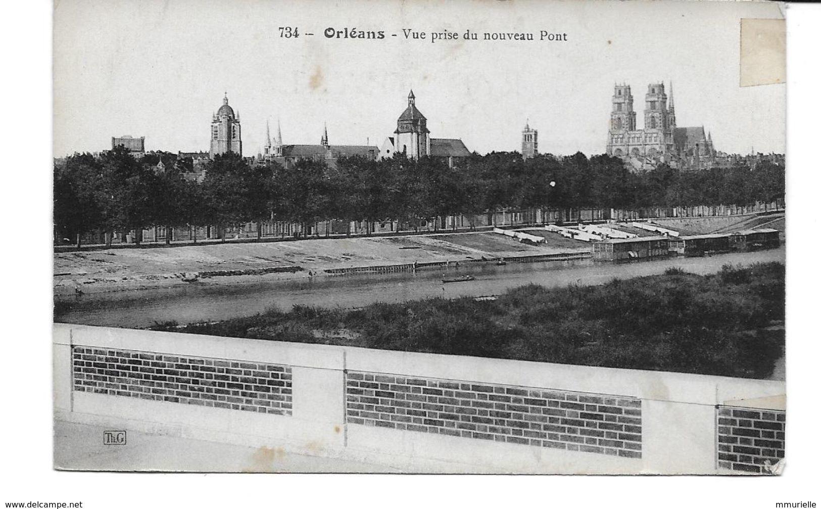 LOIRET-ORLEANS Vue Prise Du Nouveau Pont-MO - Orleans