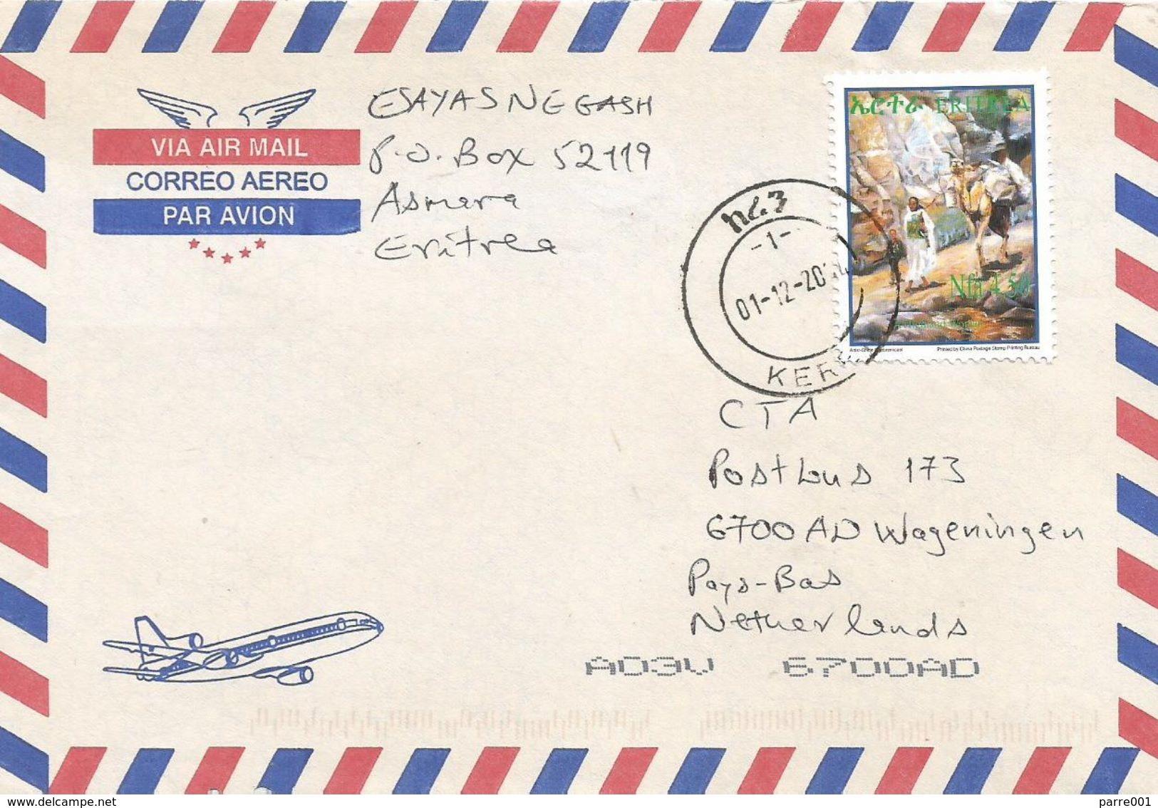Eritrea 2004 Keren Camel Cover - Eritrea