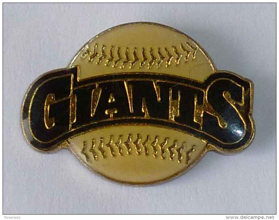 Pin's BALLE DE BASE BALL, GIANTS - Baseball
