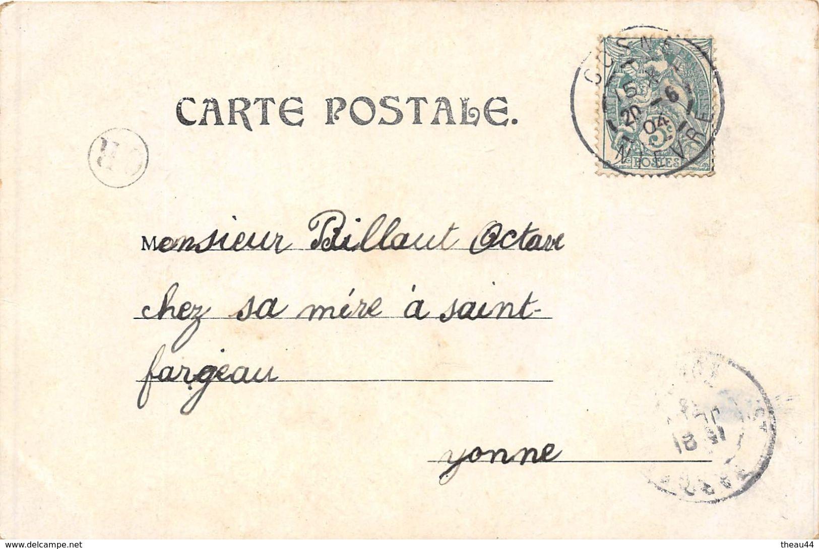 ¤¤  -  Illustrateur   -  Lutin à Cheval Sur Une Libéllule , Voyagée En 1904  -  Nain , Insecte   -  ¤¤ - 1900-1949