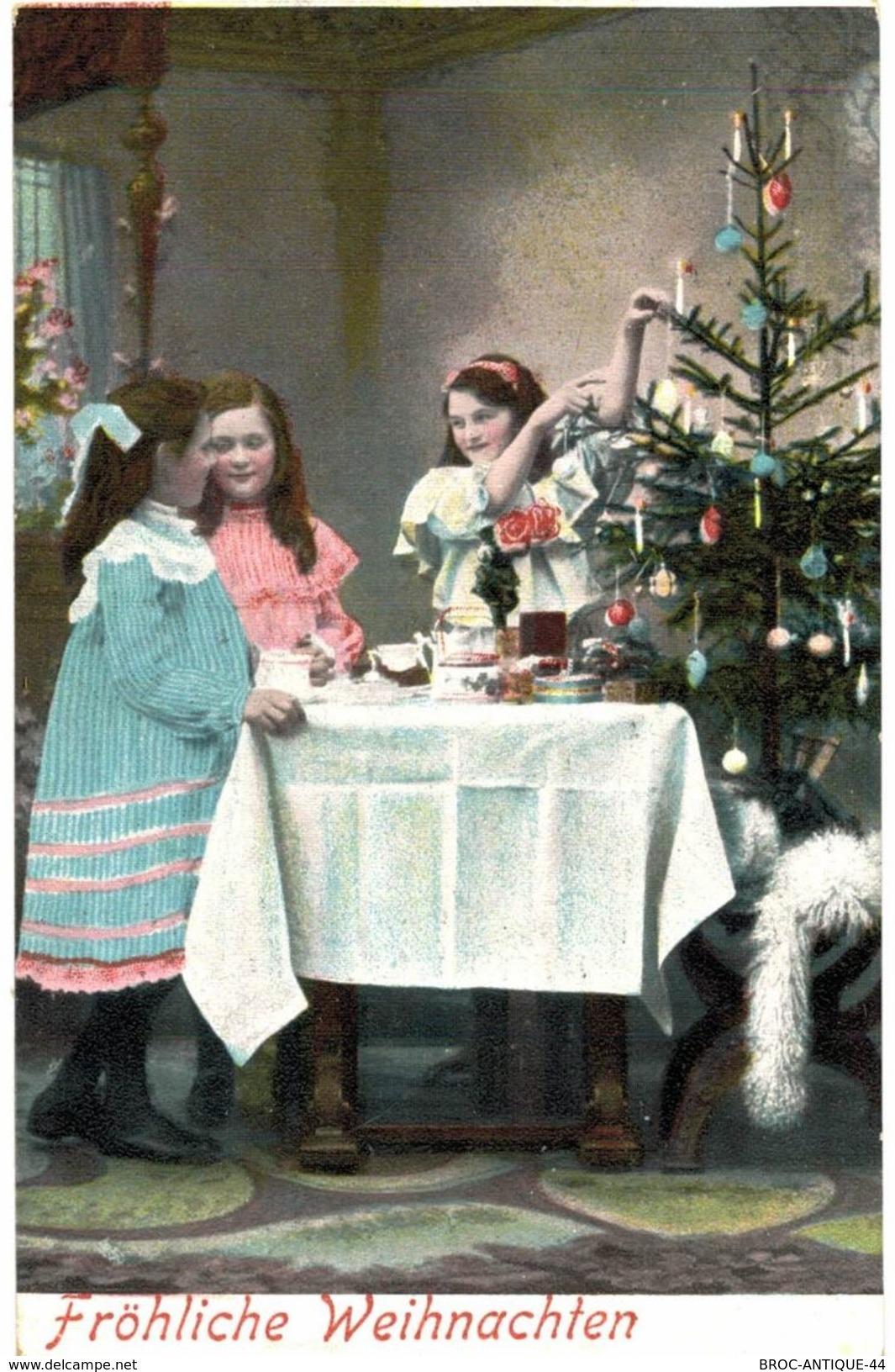 CPA N°6742 - FROHLICHE WEIHNACHTEN - Santa Claus