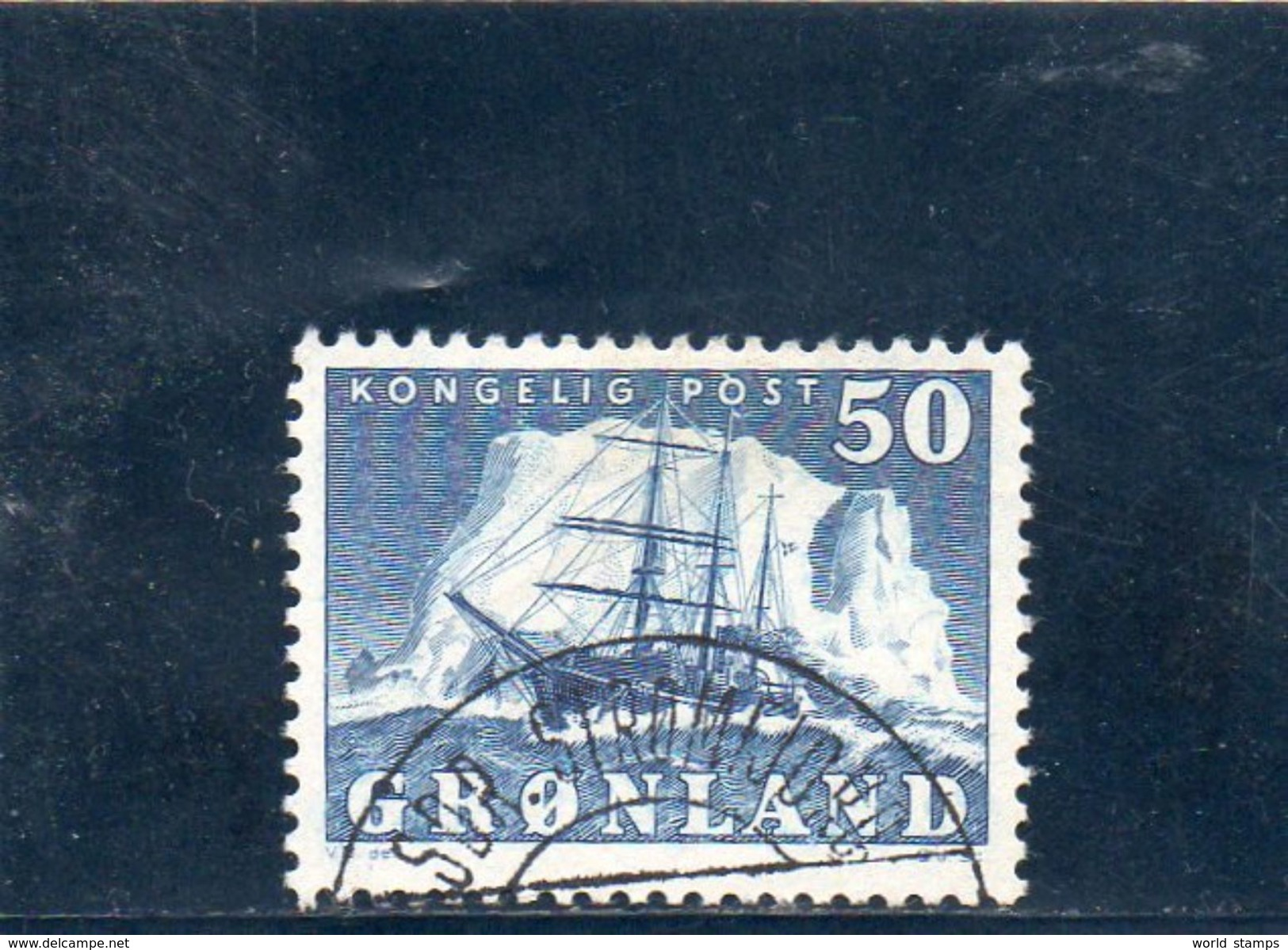 GROENLAND 1950 O - Groenlandia