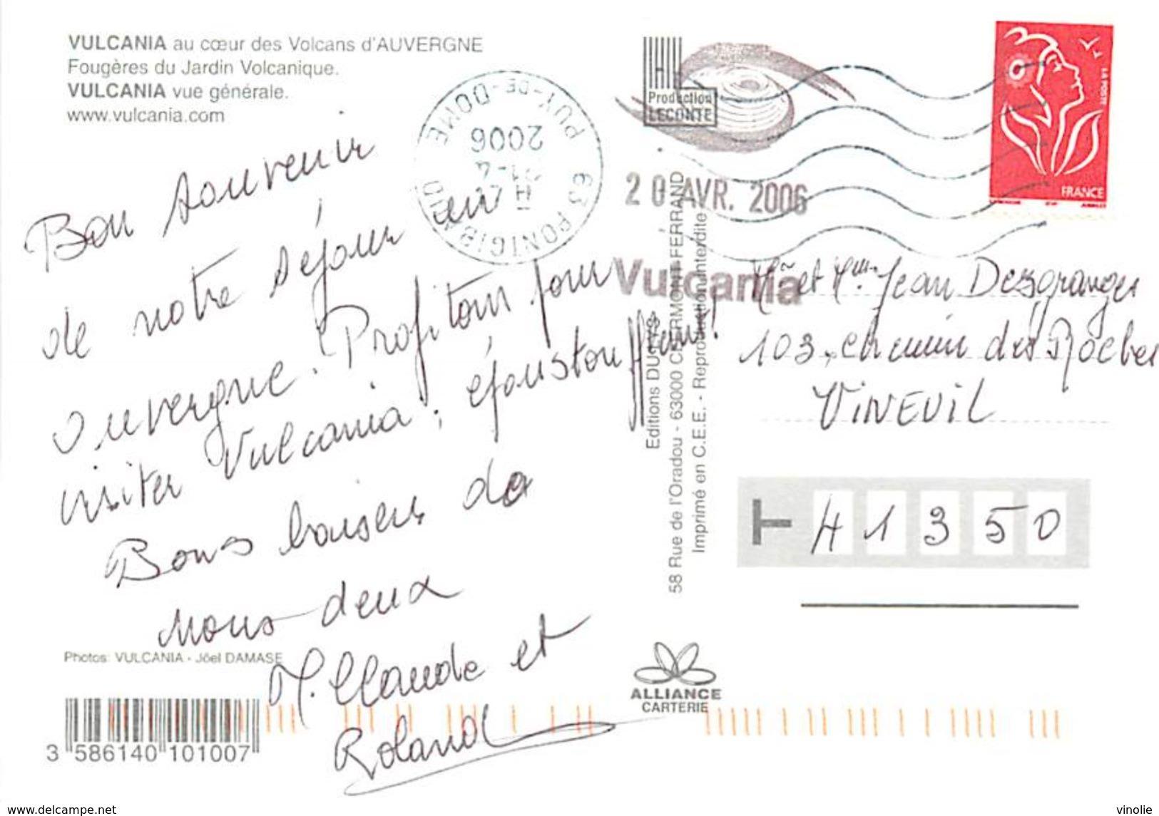 PIE 17-Des.V-5237 :  VULCANIA - Francia