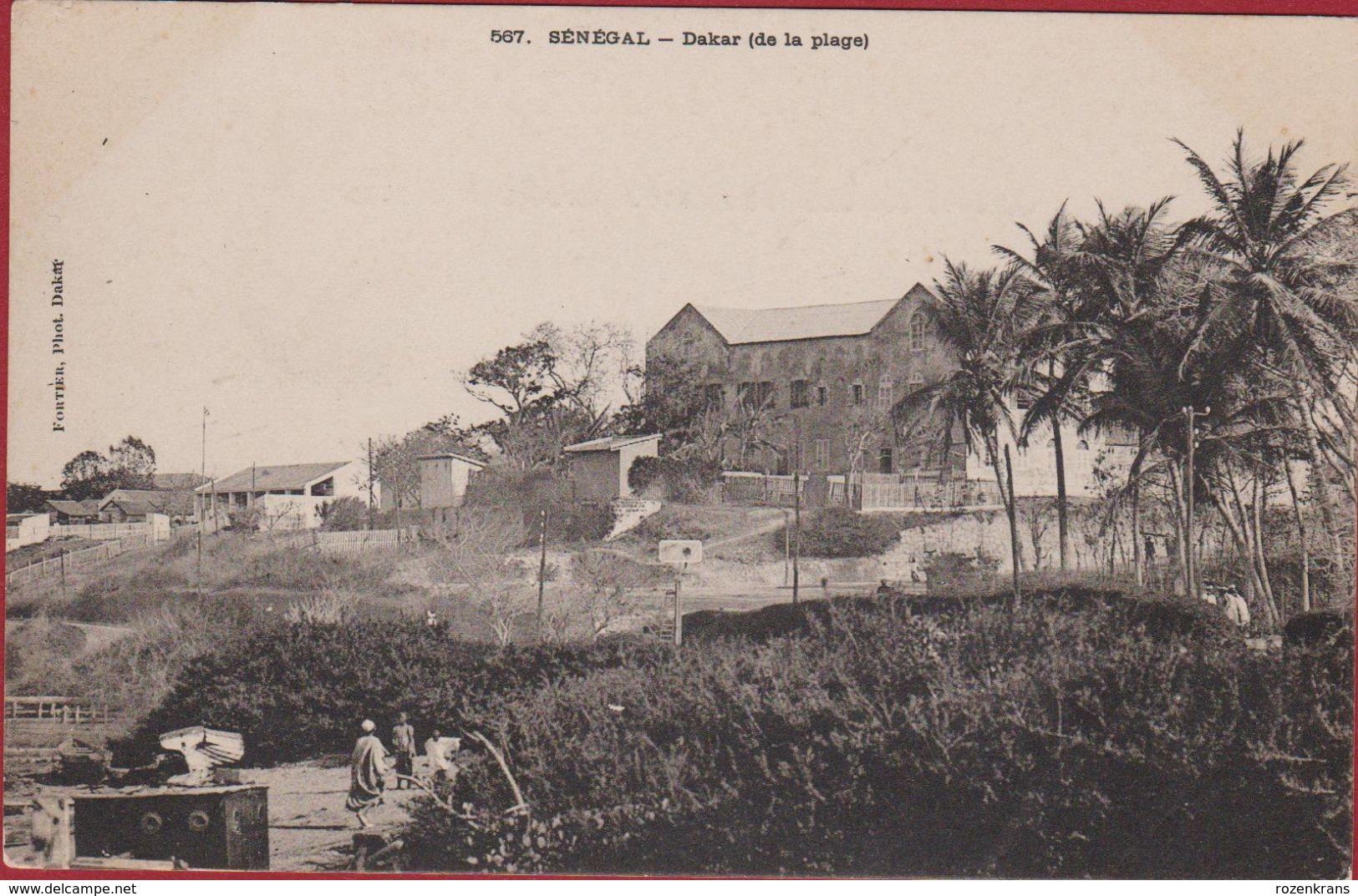 SENEGAL Dakar (de La Plage) Edit Fortier Phot Dakar - Afrika Afrique Africa - Sénégal