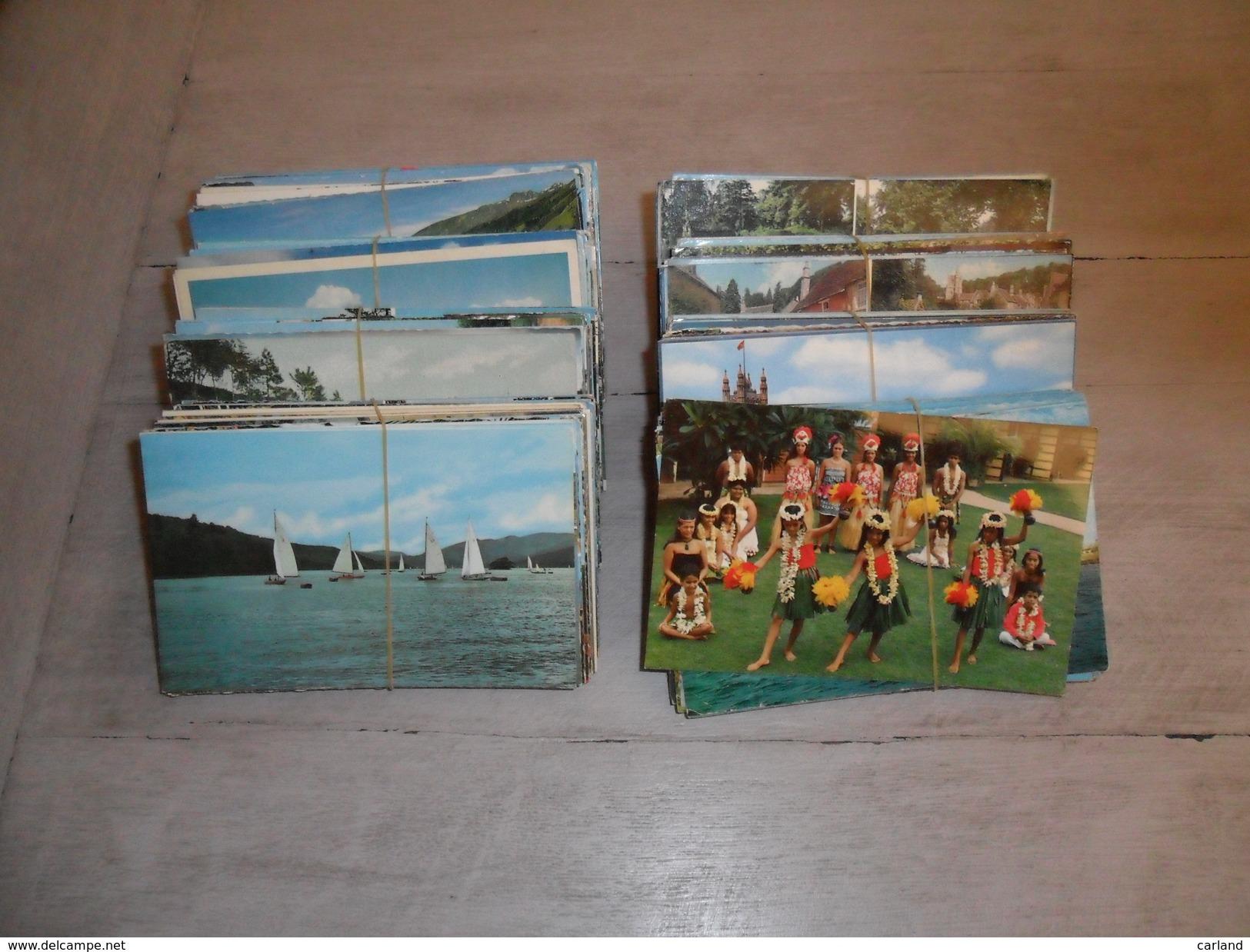 Grand Lot De 400 Cartes Postales Semi - Modernes Petit Format En Couleurs Du Monde ( Drouille )   400 Postkaarten Wereld - Cartes Postales