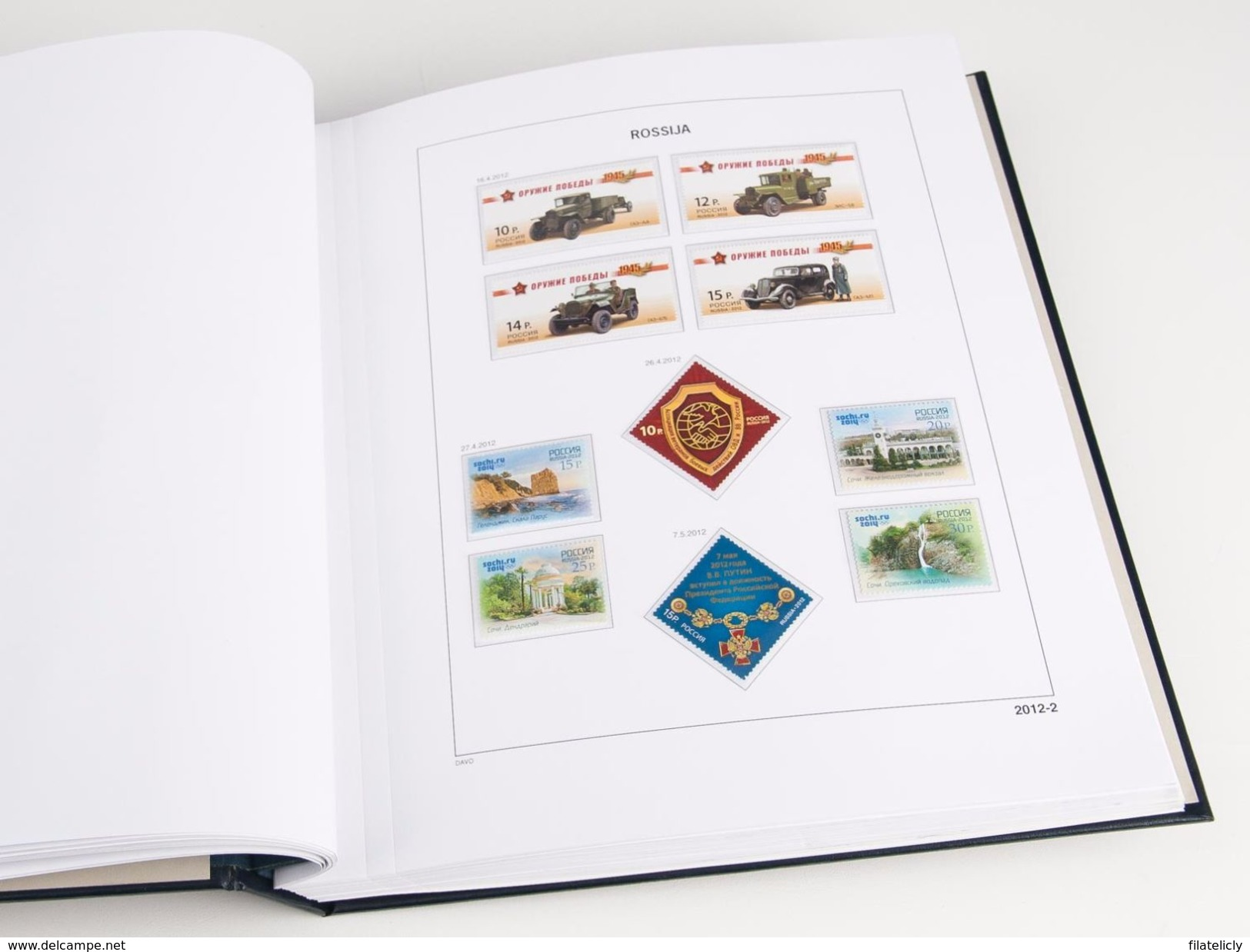 DAVO PRINTED ALBUMS RUSSIA LUXE ( IV 1980-1986 ) + Free Shipping NL + BE - Albums & Bindwerk