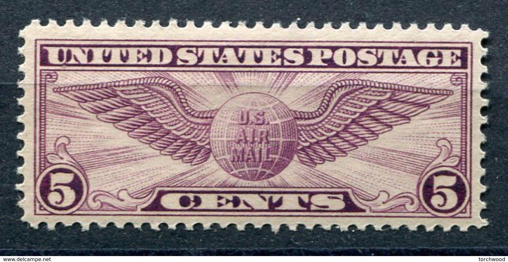 US  C12 (*)  1930 Winged Globe  Vlh - Air Mail