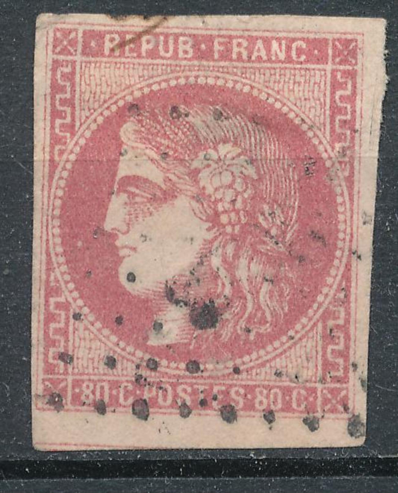 N°49 BORDEAUX NUANCE VOISIN - 1870 Emission De Bordeaux