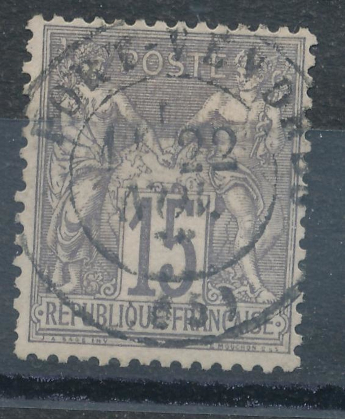 N°66 CACHET PARIS. - 1876-1878 Sage (Type I)