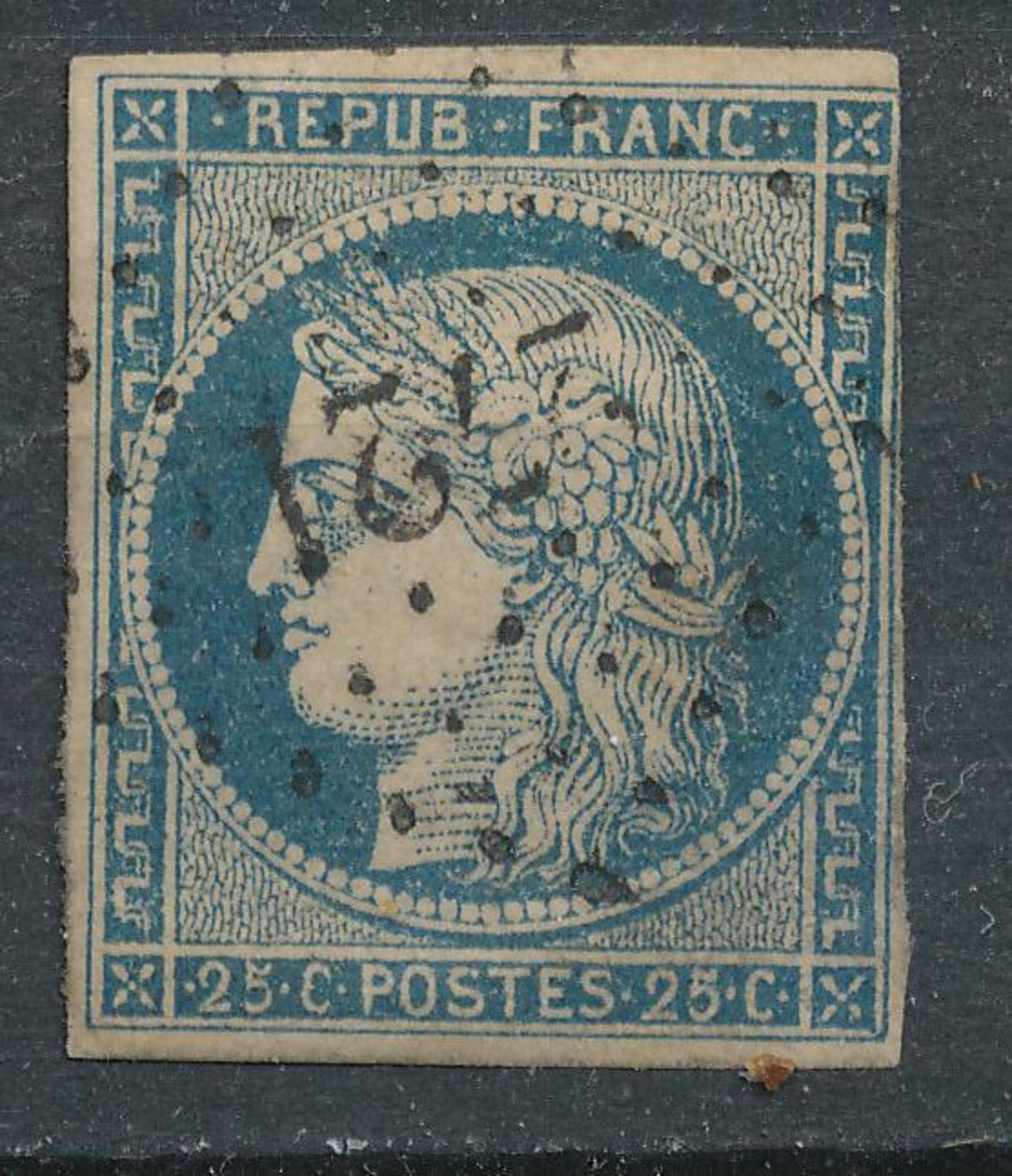 N°4 NUANCE P.C. - 1849-1850 Cérès