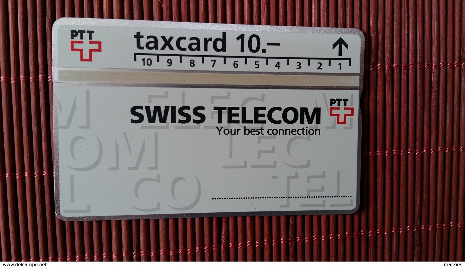 Phonecard Zwitserlan 207 D (Mint,Neuve)  Rare - Schweiz
