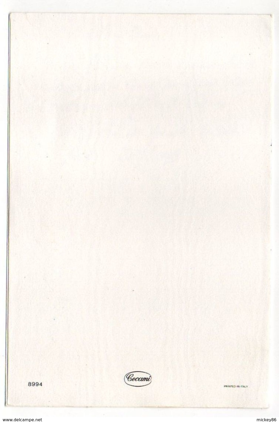 PAQUES-- Poussins , Oeufs  , Fleurs---illustrateur  ????--carte Double Italienne - Pâques
