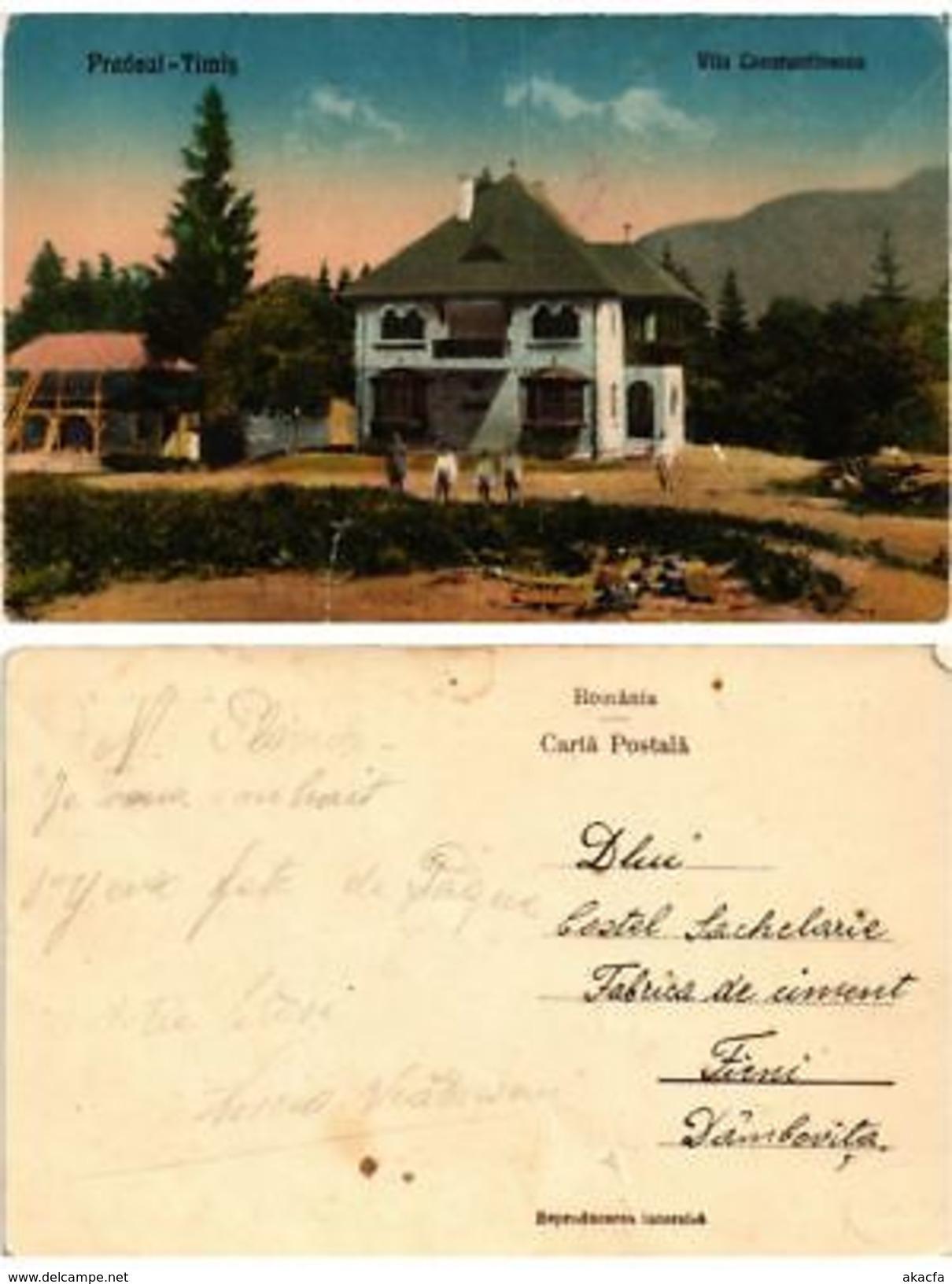 CPA TIMIS PREDEAL Vila Constantinescu. ROMANIA (500497) - Romania