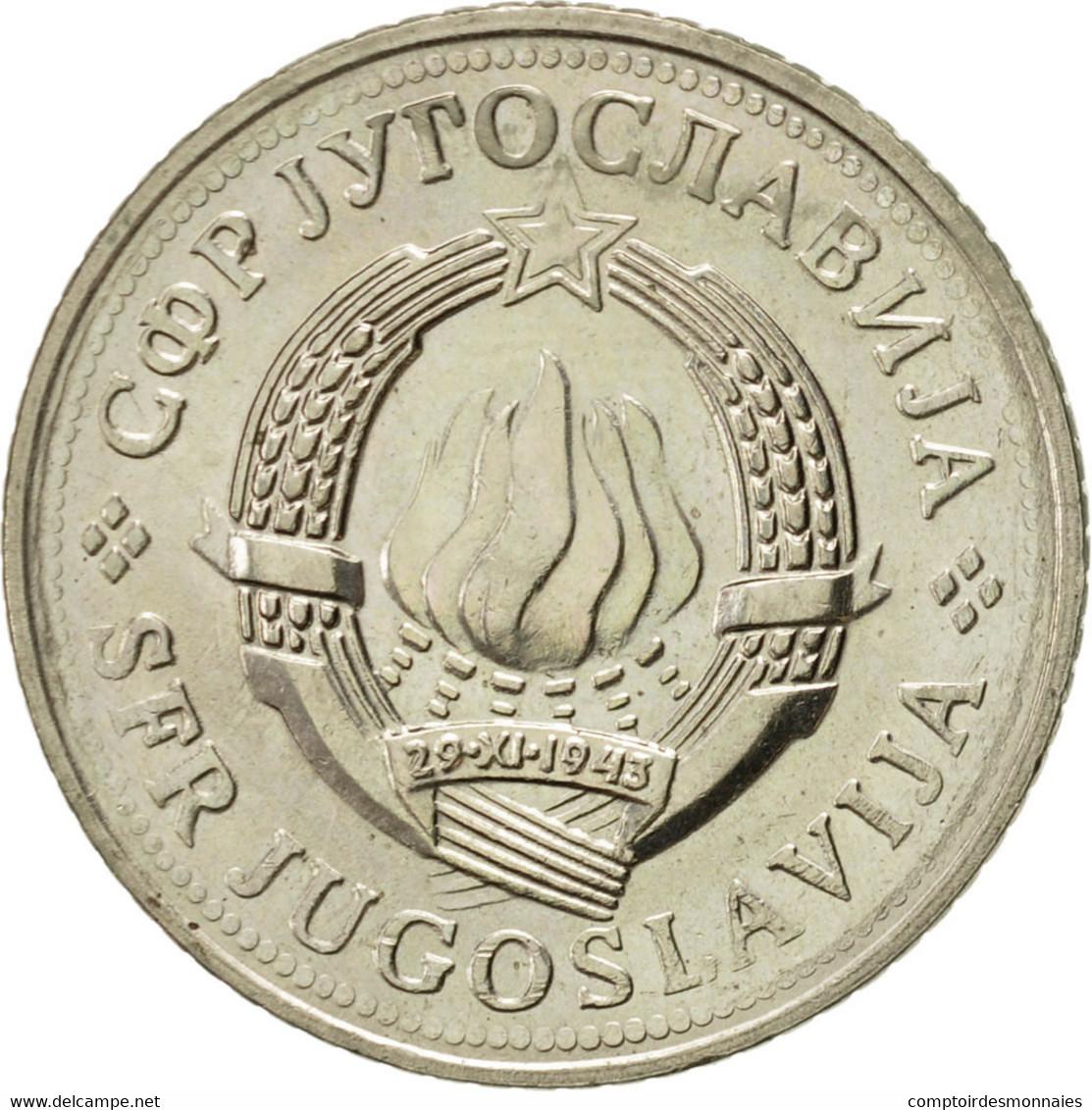 Yougoslavie, 2 Dinara, 1981, SUP, Copper-Nickel-Zinc, KM:57 - Joegoslavië