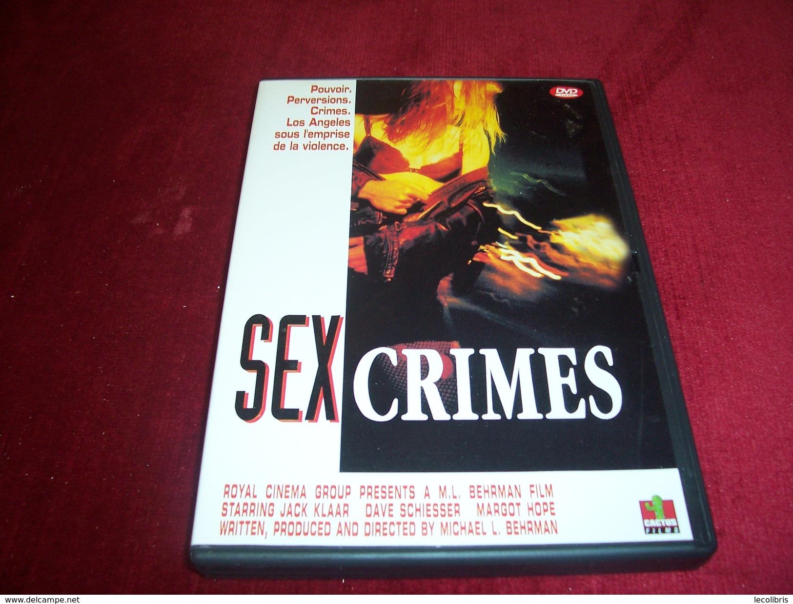 SEX CRIMES - Policiers