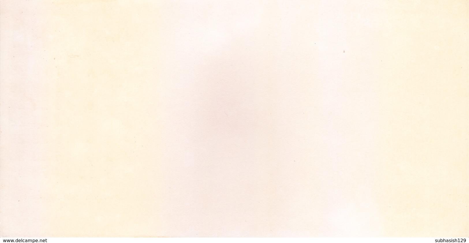 INDIA - RARE AND OLD PAPER CALENDAR - DECEMBER 1973 -  PRINTED HAND SKETCH - CHURCH, MYSORE - ANTIQUE ITEM - Big : 1971-80