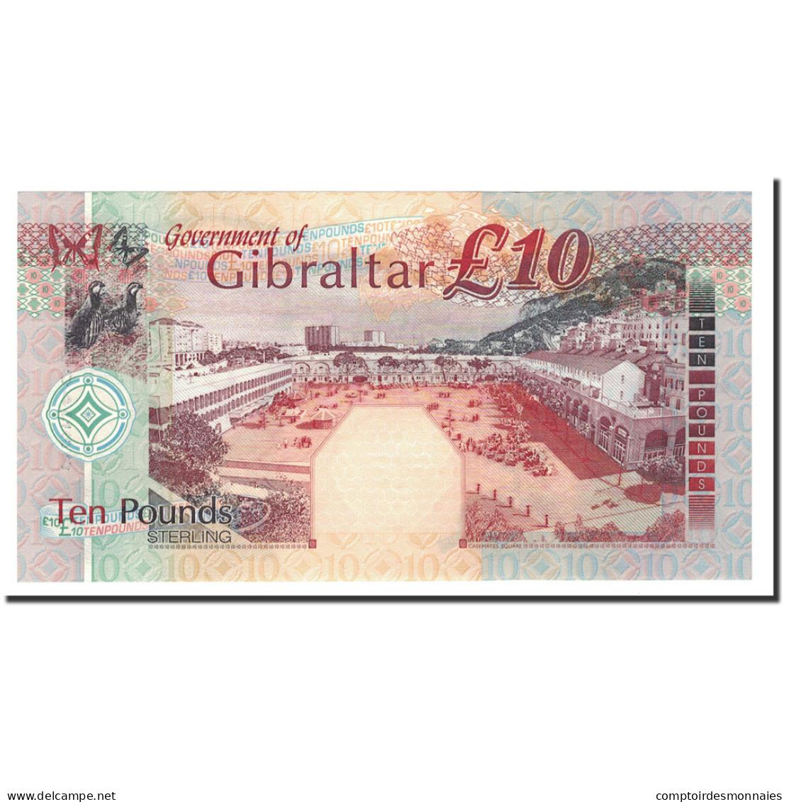Gibraltar, 10 Pounds, 2002, KM:30, 2002-09-10, NEUF - Gibraltar