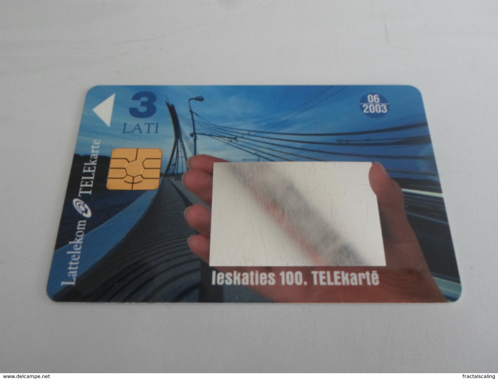 LATVIA - Nice Chipphonecard As On Photo - Latvia
