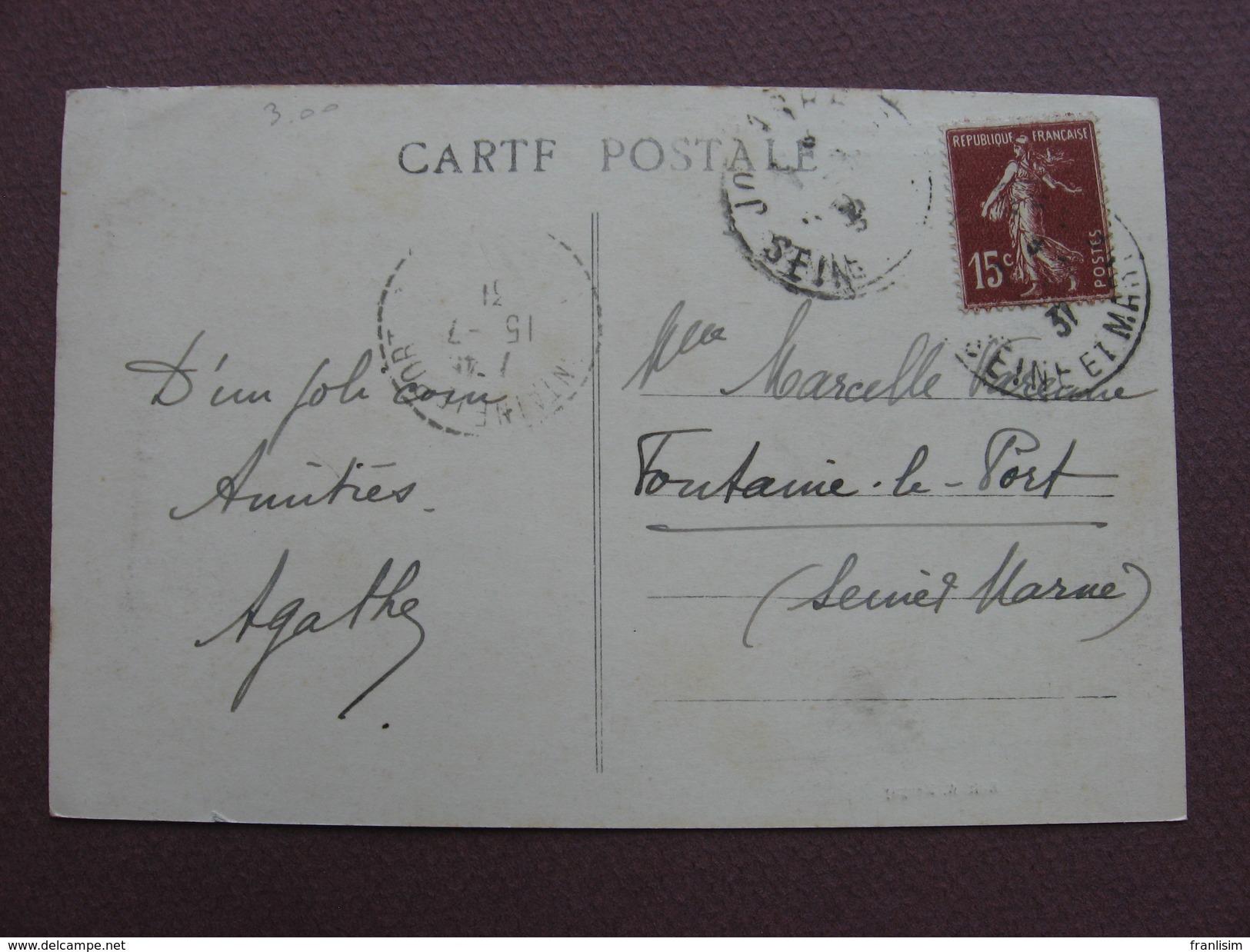CPA 77 SAINTE AULDE Vue De Marne 1931 Canton LA FERTE SOUS JOUARRE - France