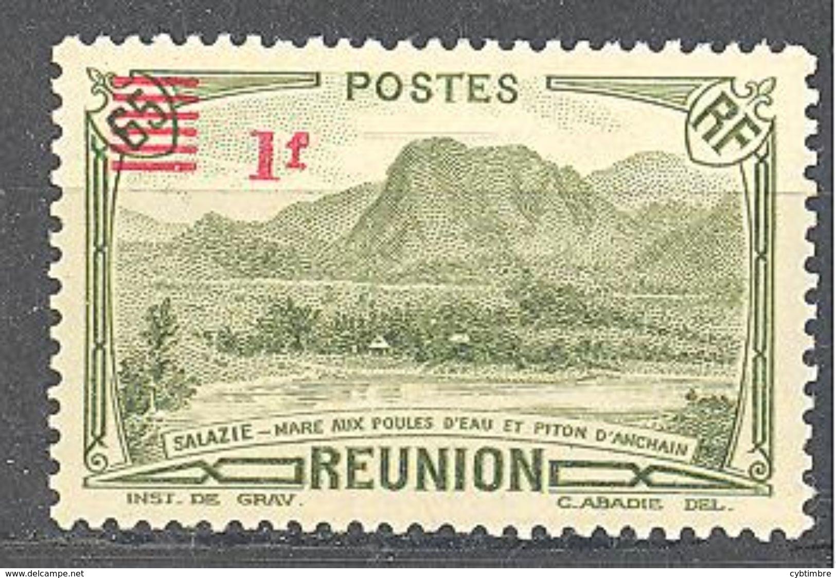 Reunion: Yvert N° 186*; Cote 1.30€ - Réunion (1852-1975)
