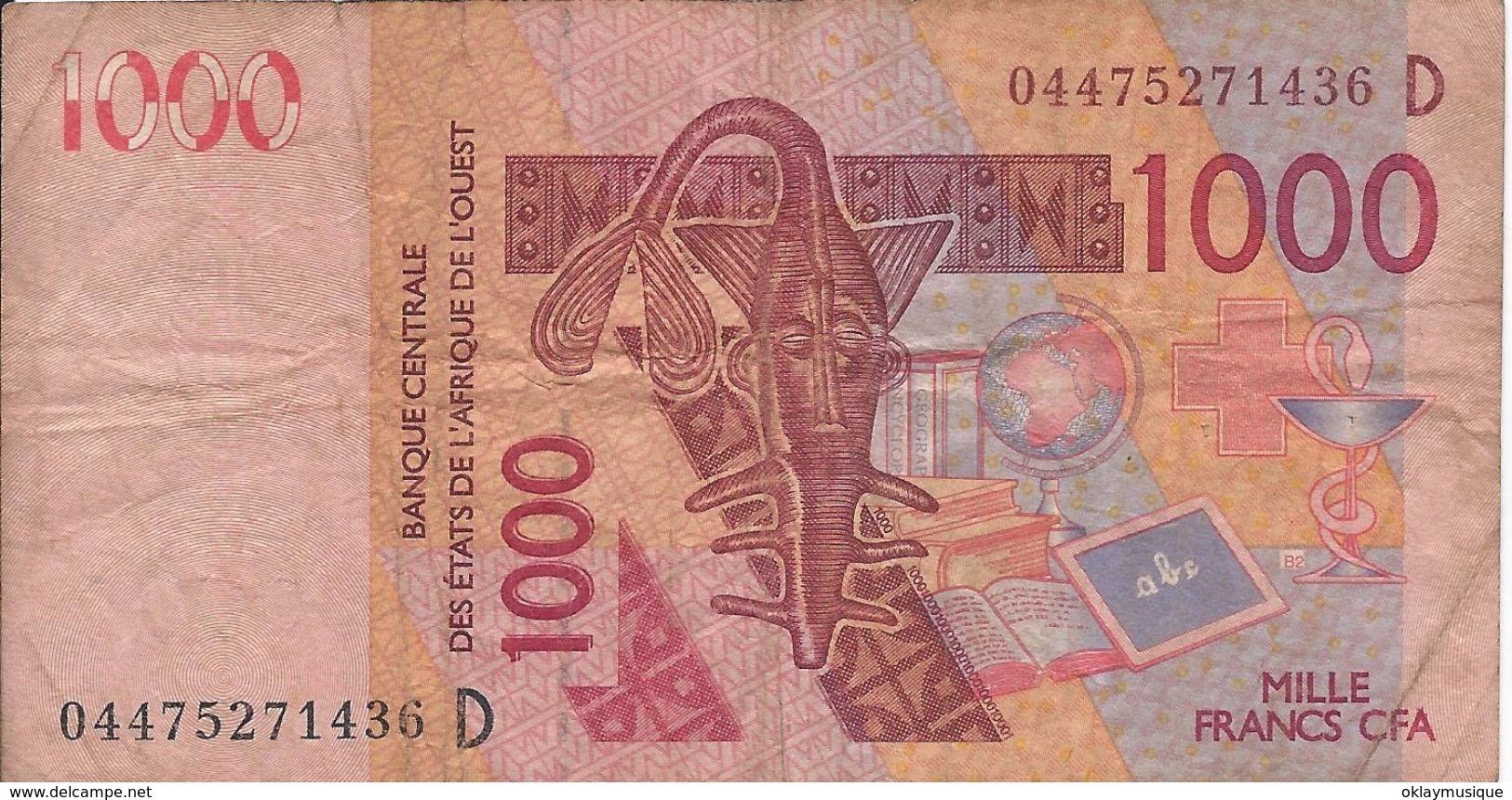 1000 Francs 2003  Mali - Mali