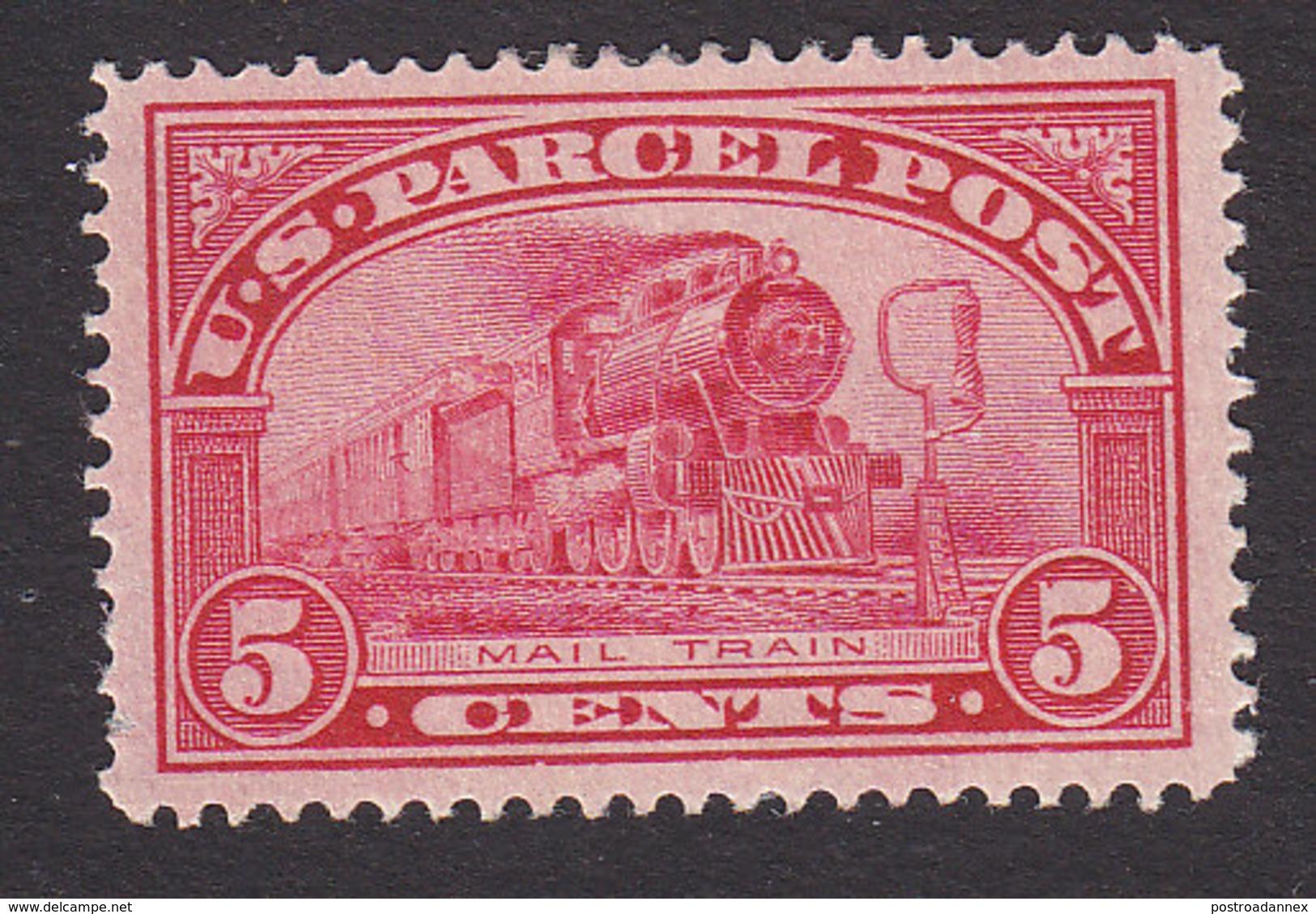 United States, Scott #Q5, Mint Hinged, Mail Train, Issued 1913 - Paketmarken