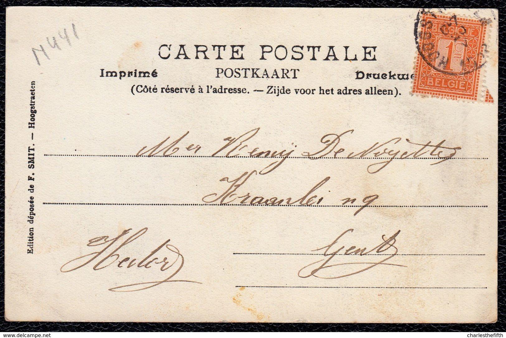 1902 - HOOGSTRAETEN Voorloper ! - Zeldzame  Editie F. SMIT - Ste-Catharina Kerk En Groote Markt !!! - Hoogstraten