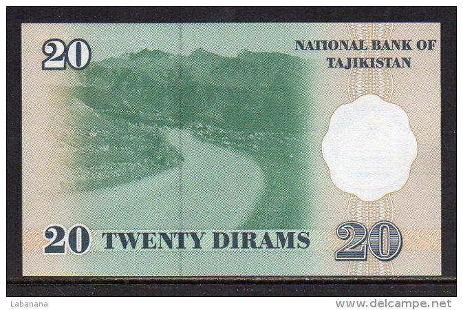 510-Tajikistan Billet De 20 Dirams 1999 CB717 Neuf - Tadjikistan