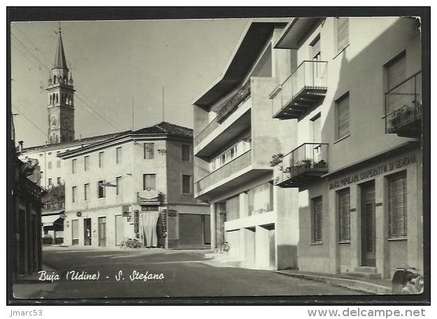 BUJA (Udine) - S. Stefano - Banca Popolare Di Genova - Postally Used 1961 - Autres Villes