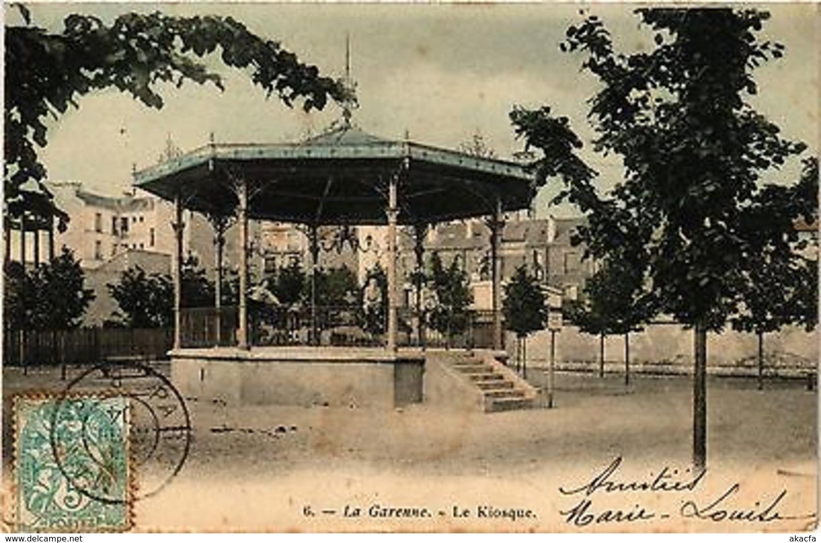 CPA La Garenne - Le Kiosque (274804) - La Garenne Colombes