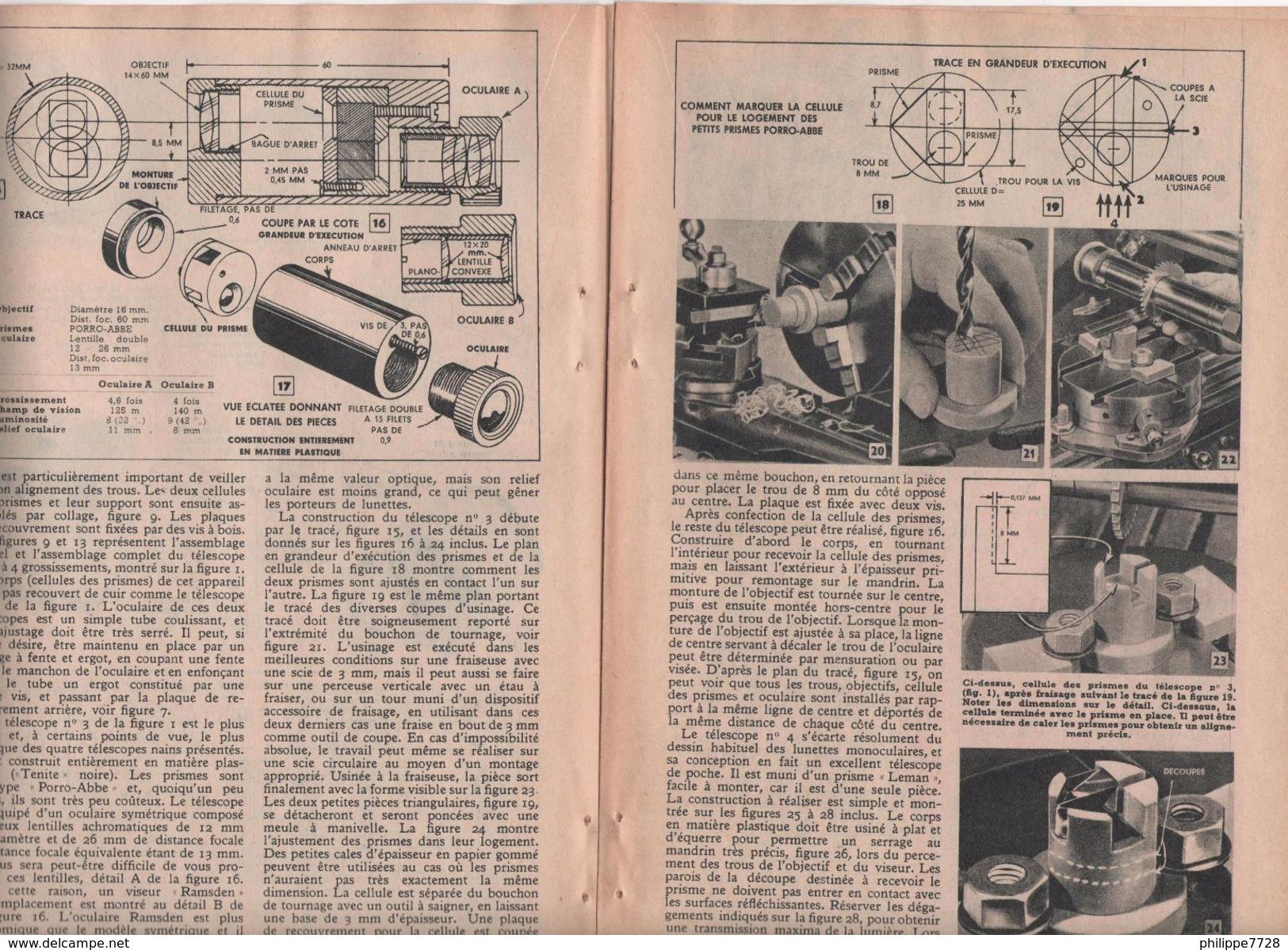 TÉLESCOPES MINIATURE 1956 - Old Paper
