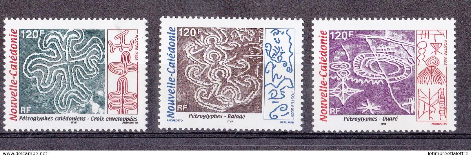 Nouvelle-Calédonie N°955 à 957** - Nueva Caledonia