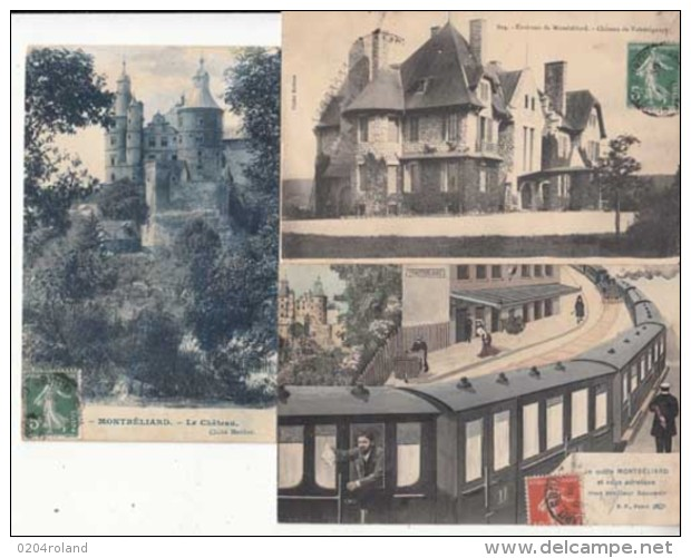 France 25 - Montbéliard - 3 Cartes     -  Achat Immédiat - Montbéliard