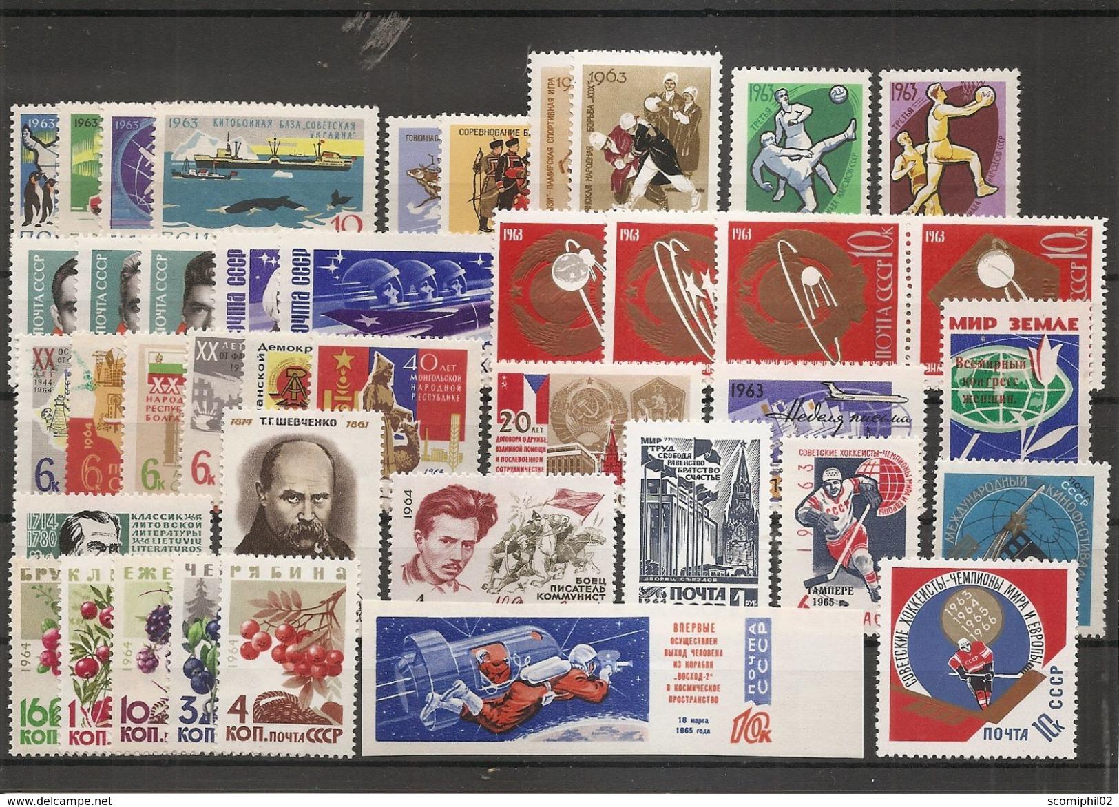Russie ( Lot De Timbres Divers Différents Des Années 1960 XXX -MNH) - 1923-1991 USSR