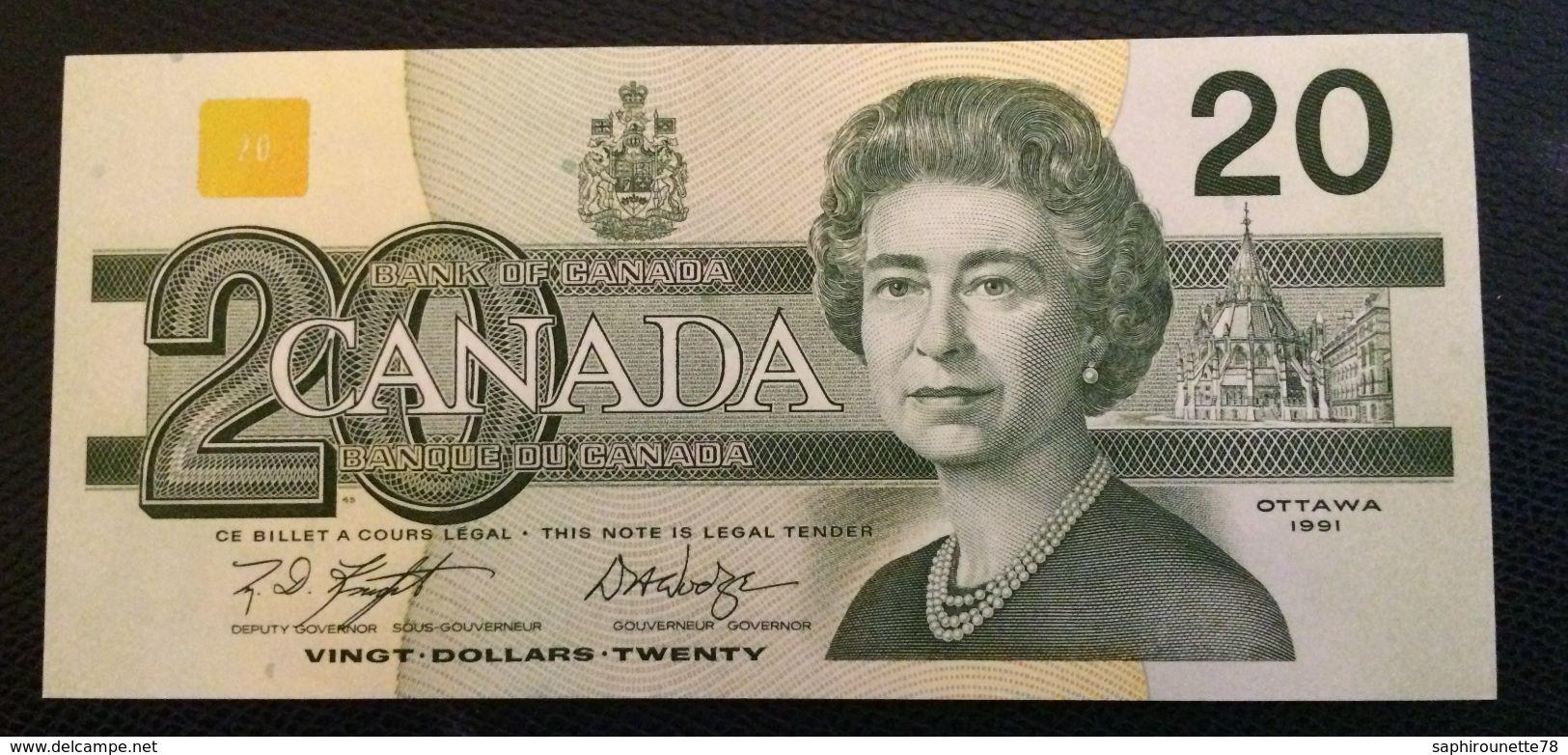 CANADA - Billet De 20 Dollars   - EWY1423572 - Canada