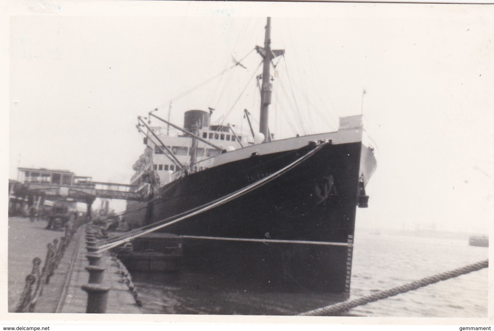 CALEDONIA. LIVERPOOL 1956 - Paquebote