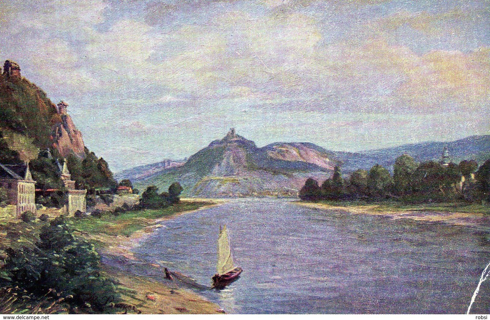 Deutschland Rhein, Rolandseck Drachenfels N 5311, Rhin - Koenigswinter