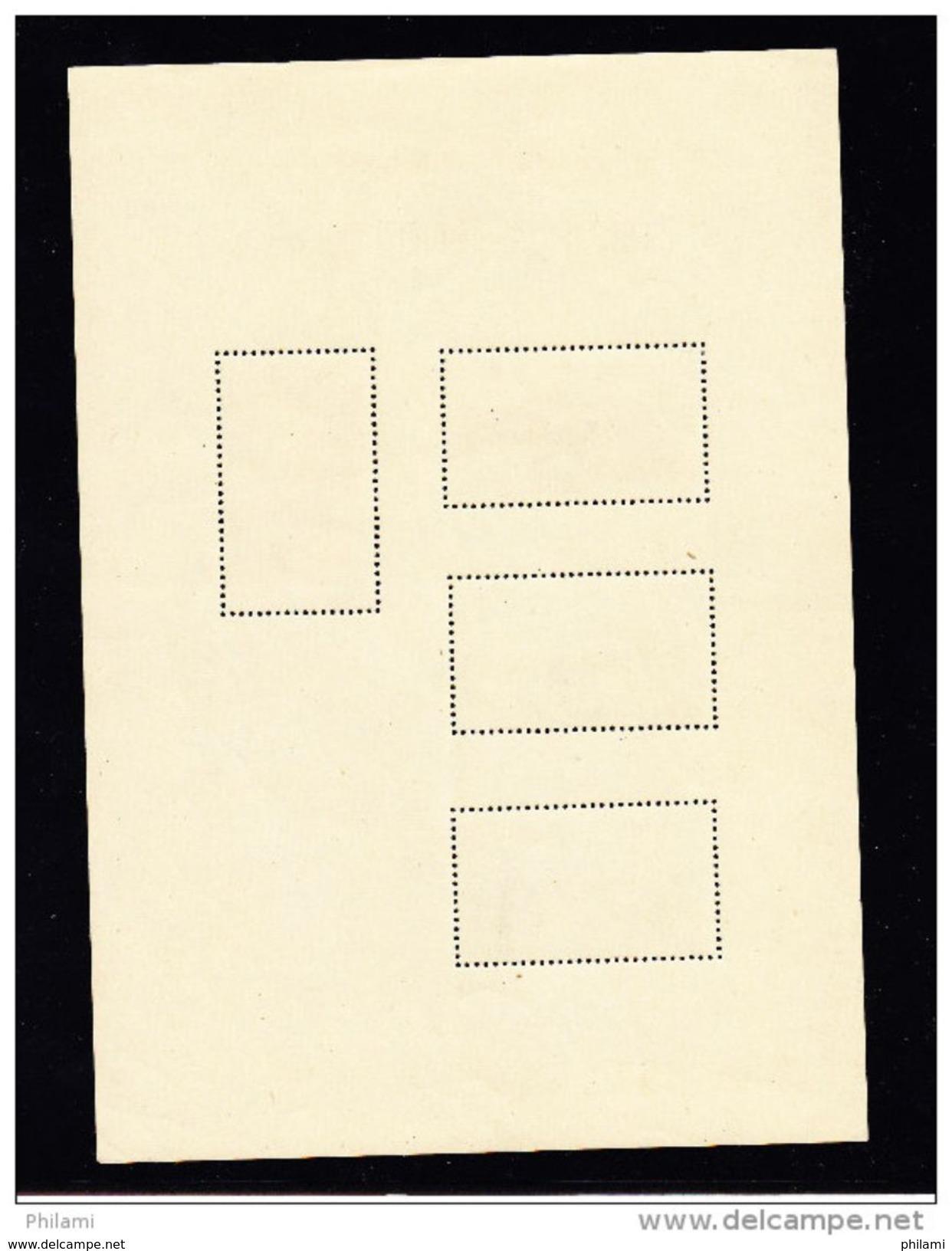 JAPON BLOC 5 ** MNH, PARC NATIONAL DE DAISETSUZAN. (5CT48) - Blocks & Sheetlets