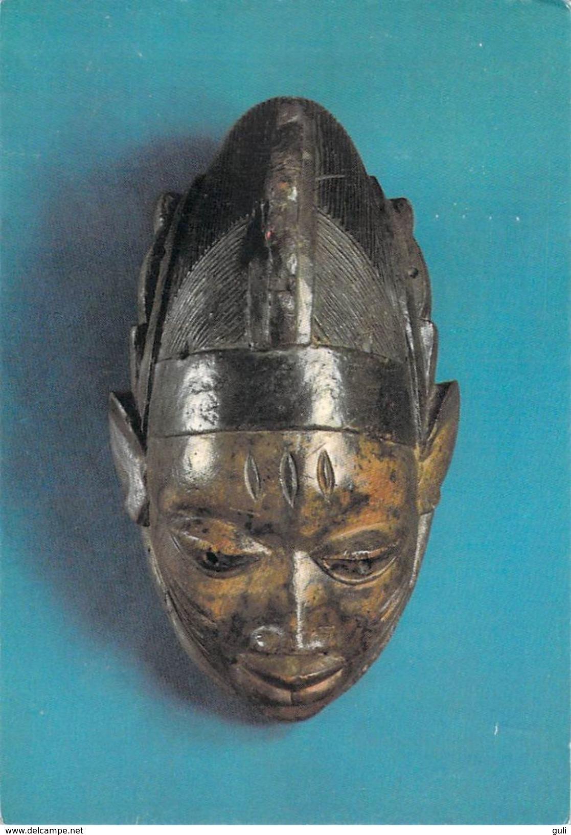 Afrique NIGERIA - LAGOS Masque De Danse Africain (bois )* PRIX FIXE - Nigeria