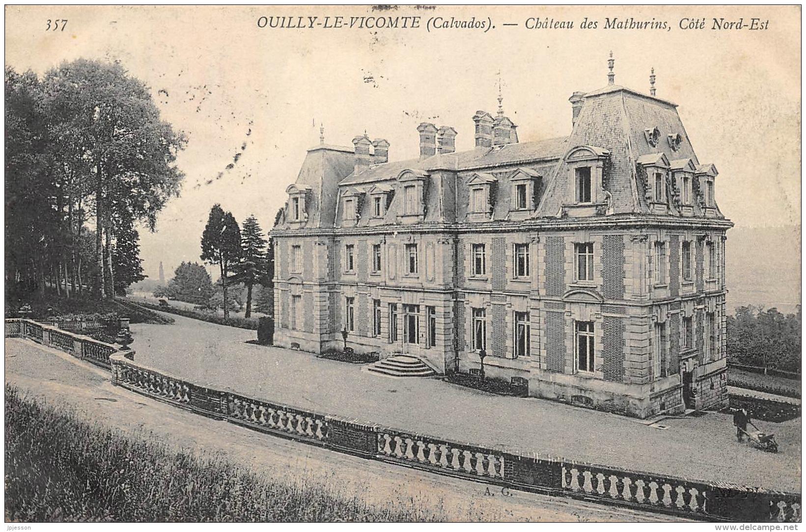 CALVADOS   14  OUILLY LE VICOMTE  CHATEAU DES MATHURINS, COTE NORD - EST - Frankreich