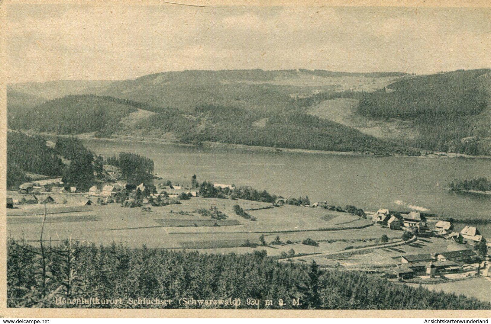 Höhenluftkurort Schluchsee Gesamtansicht (001314) - Schluchsee